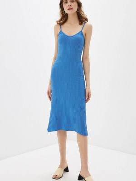 Платье платье-майка синее Rinascimento