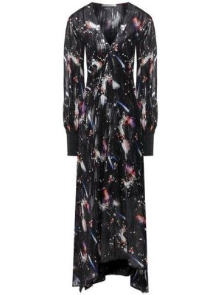 Платье макси с V-образным вырезом шифоновое Dorothee Schumacher
