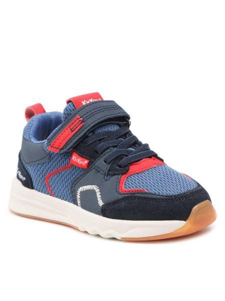 Sneakersy granatowe Kickers
