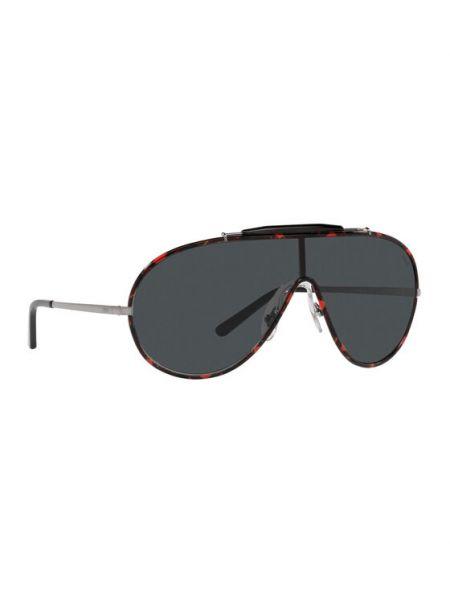 Czarne okulary Polo Ralph Lauren