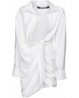Платье мини с декольте макси Jacquemus