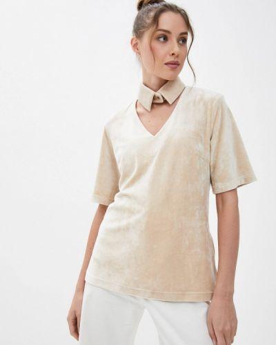 Блузка - бежевая энсо