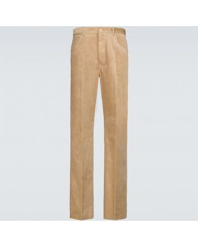 Spodnie sztruksowe - beżowe Acne Studios