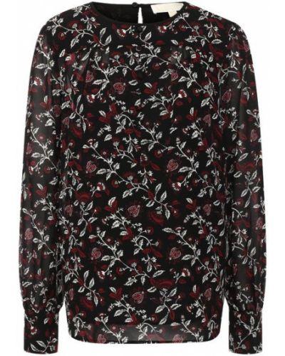 Блузка с принтом с вырезом Michael Michael Kors