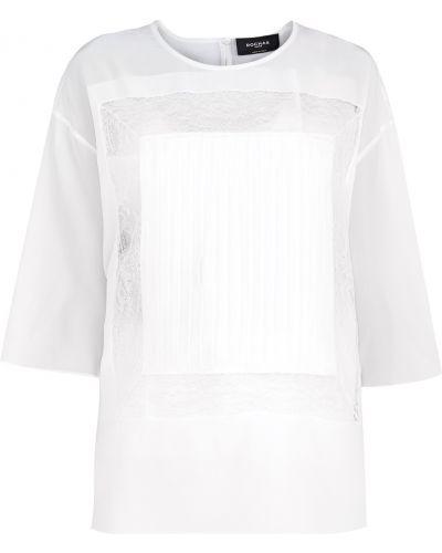 Блузка кружевная плиссированная Rochas