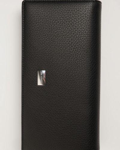 Кожаный клатч - черный Cerruti 1881
