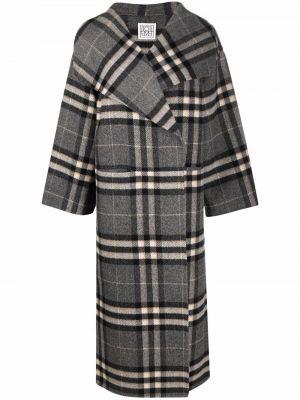 Płaszcz wełniany Toteme