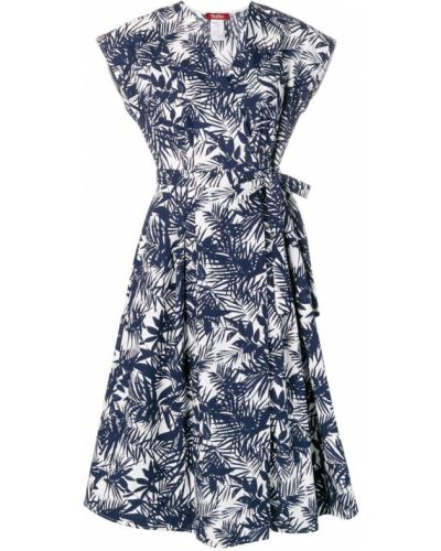 Платье мини короткое - синее Max Mara Studio