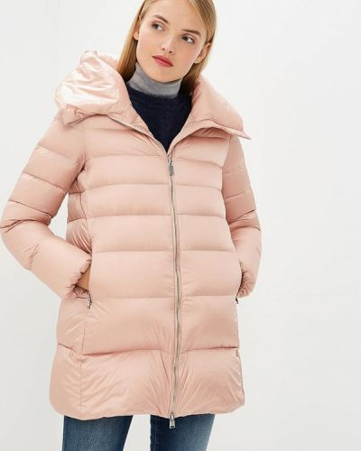 Коралловая зимняя куртка Add