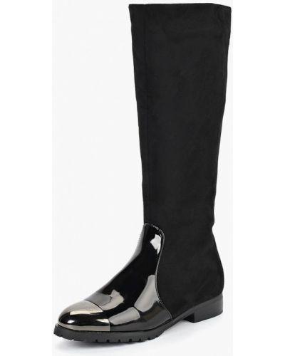 Кожаные сапоги осенние замшевые Vivian Royal