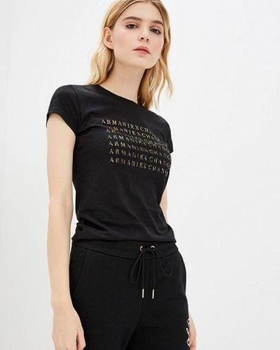 Черная футболка 2019 Armani Exchange