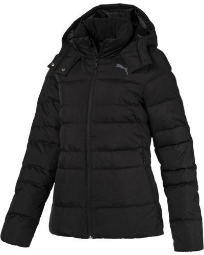 Куртка с капюшоном черная на молнии Puma