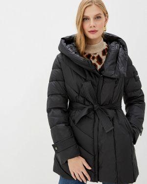 Утепленная куртка демисезонная черная Clasna