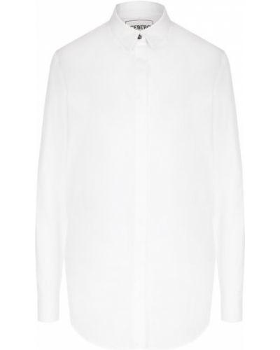 Блузка с вышивкой хлопковая Iceberg