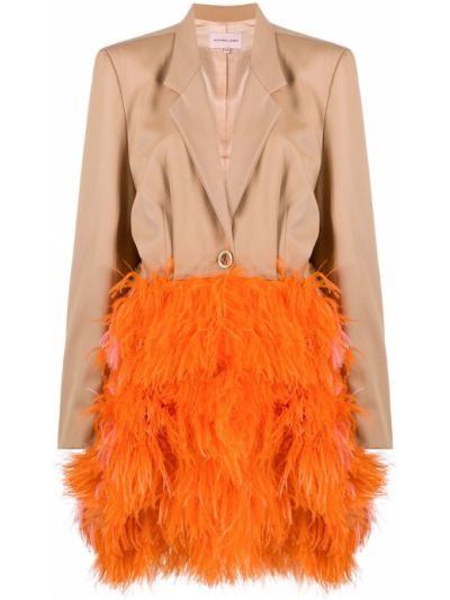 Шерстяное пальто - коричневое Natasha Zinko
