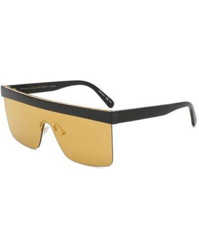 Желтые солнцезащитные очки Stella Mccartney