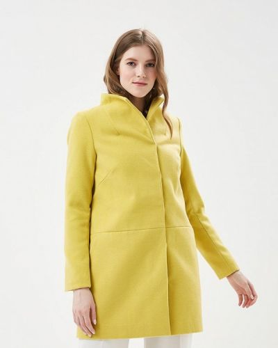 Желтое пальто весеннее Top Secret