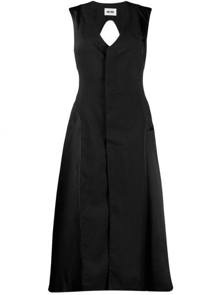 Платье миди с открытой спиной с V-образным вырезом Each X Other