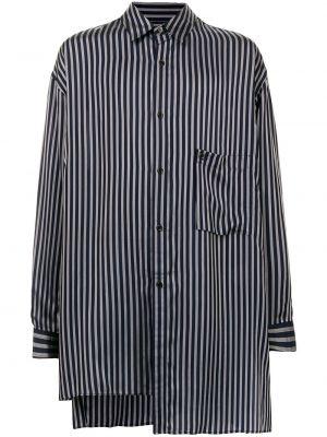Niebieska koszula zapinane na guziki Yohji Yamamoto