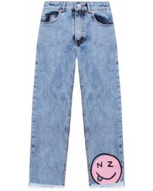 Хлопковые синие джинсы Natasha Zinko