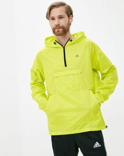 Желтая ветровка Adidas