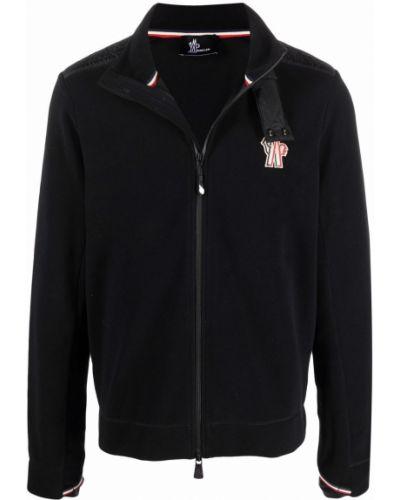 Czarny sweter ze stójką Moncler Grenoble
