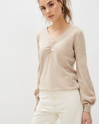 Бежевый пуловер B.style