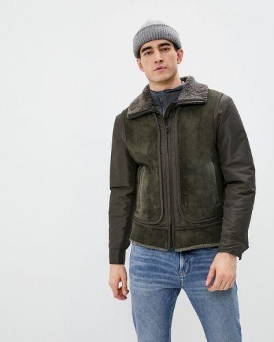 Утепленная куртка хаки закрытая Closed