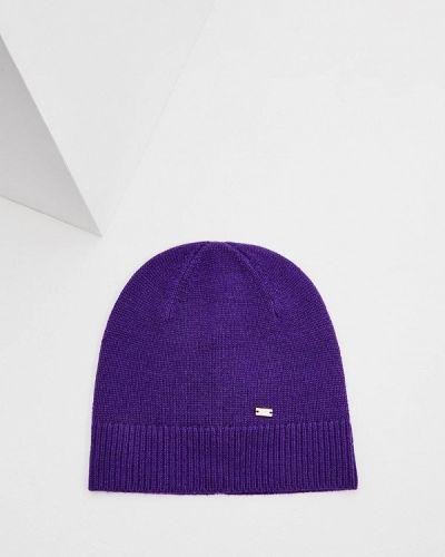 Фиолетовая шапка осенняя Escada Sport
