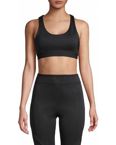 Черный лиф без рукавов с подкладкой Koral Activewear