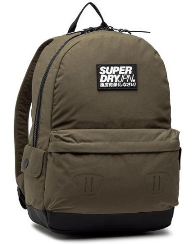 Zielony klasyczny plecak Superdry