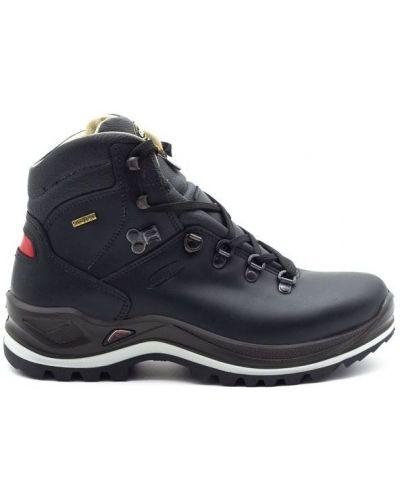 Кожаные ботинки - черные Grisport