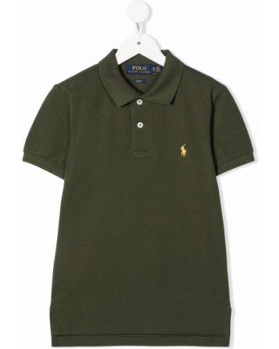 Koszula krótki rękaw - żółta Ralph Lauren Kids