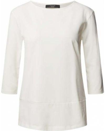 Biała koszulka bawełniana Weekend Max Mara