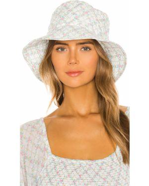 Niebieski kapelusz elegancki bawełniany Loveshackfancy