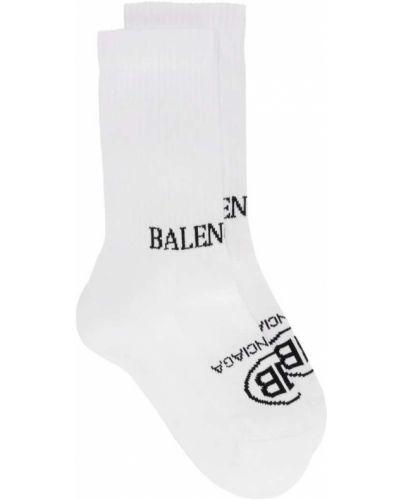 Белые носки вязаные Balenciaga