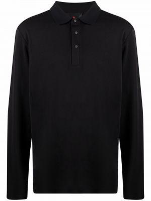 Czarna koszula z długimi rękawami Peuterey