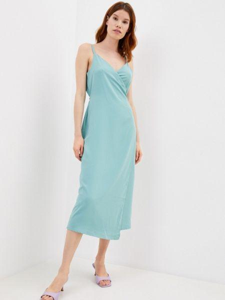 Бирюзовое платье с запахом Imocean