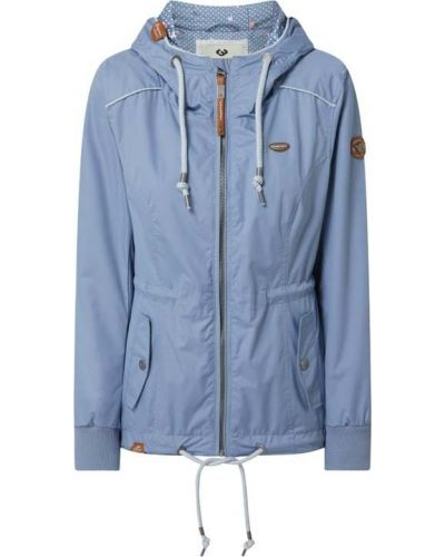 Niebieska kurtka z kapturem Ragwear