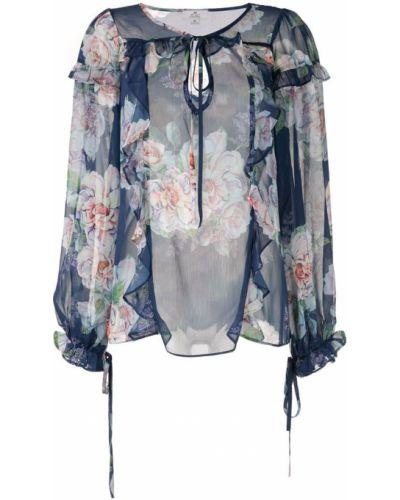 Блузка с завязками с цветочным принтом We Are Kindred
