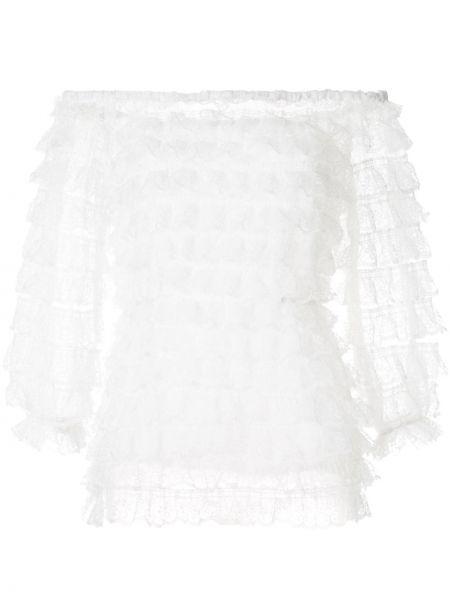 Топ кружевной белый Bambah