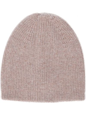 Шерстяная шапка бини - коричневая Bonpoint