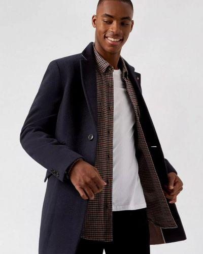 Синее пальто Burton Menswear London