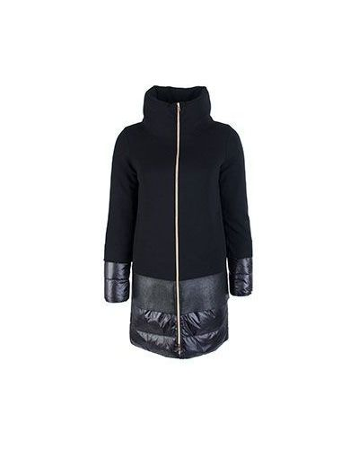 Зимняя куртка утепленная черная Herno