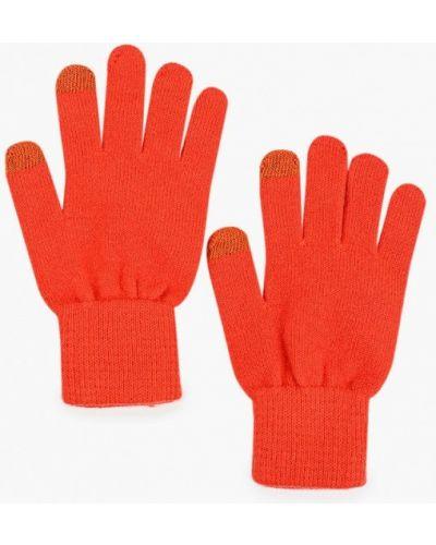 Текстильные красные перчатки Norveg