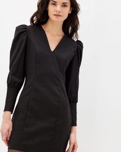 Прямое черное платье Befree