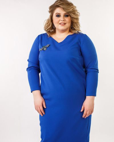 Вечернее платье с V-образным вырезом платье-сарафан Jetti-plus
