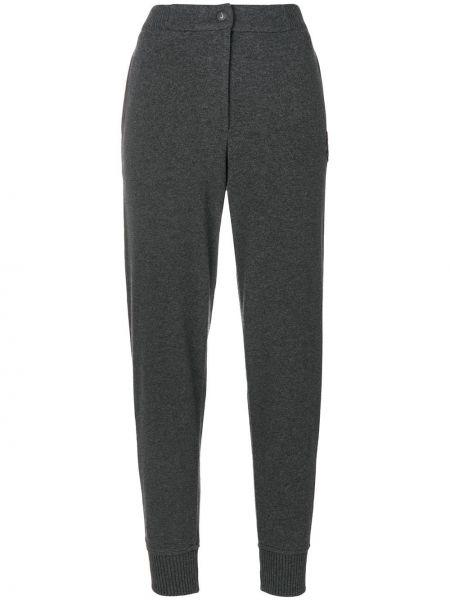 Спортивные брюки из полиэстера - серые Jo No Fui