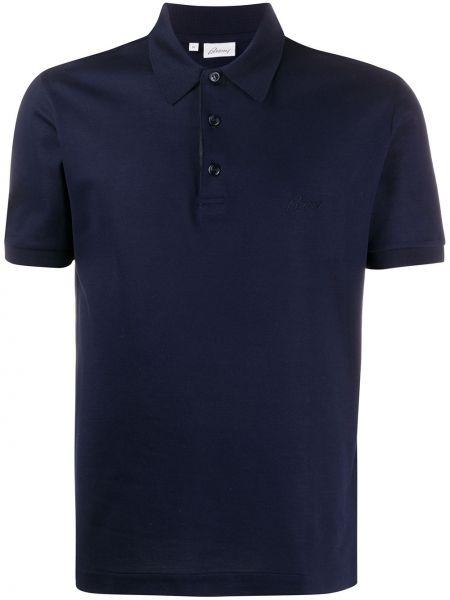 Koszula krótkie z krótkim rękawem klasyczna z kołnierzem Brioni