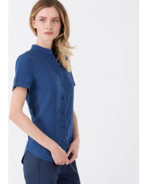 Рубашка льняная на пуговицах Lacoste